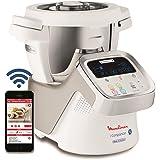 Moulinex i-Companion - HF900110 Robot cuiseur multifonction connecté -  4 programmes automatiques, 4 accessoires inclus, capacité jusqu'à 6 personnes , 1 million de menus
