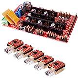 REES52 iduino Professional 3D Printer Kit,+RAMPS 1.4 + A4988 GRBL Stepper Motor Driver (3D Printer Kit)