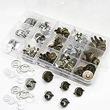 VEGCOO 40PCS Fermoir Magnétique Bouton, 14mm/18mm Bouton Magnétiques pour Sac en Tissu Vêtements en Cuir à Coudre et Craft DI