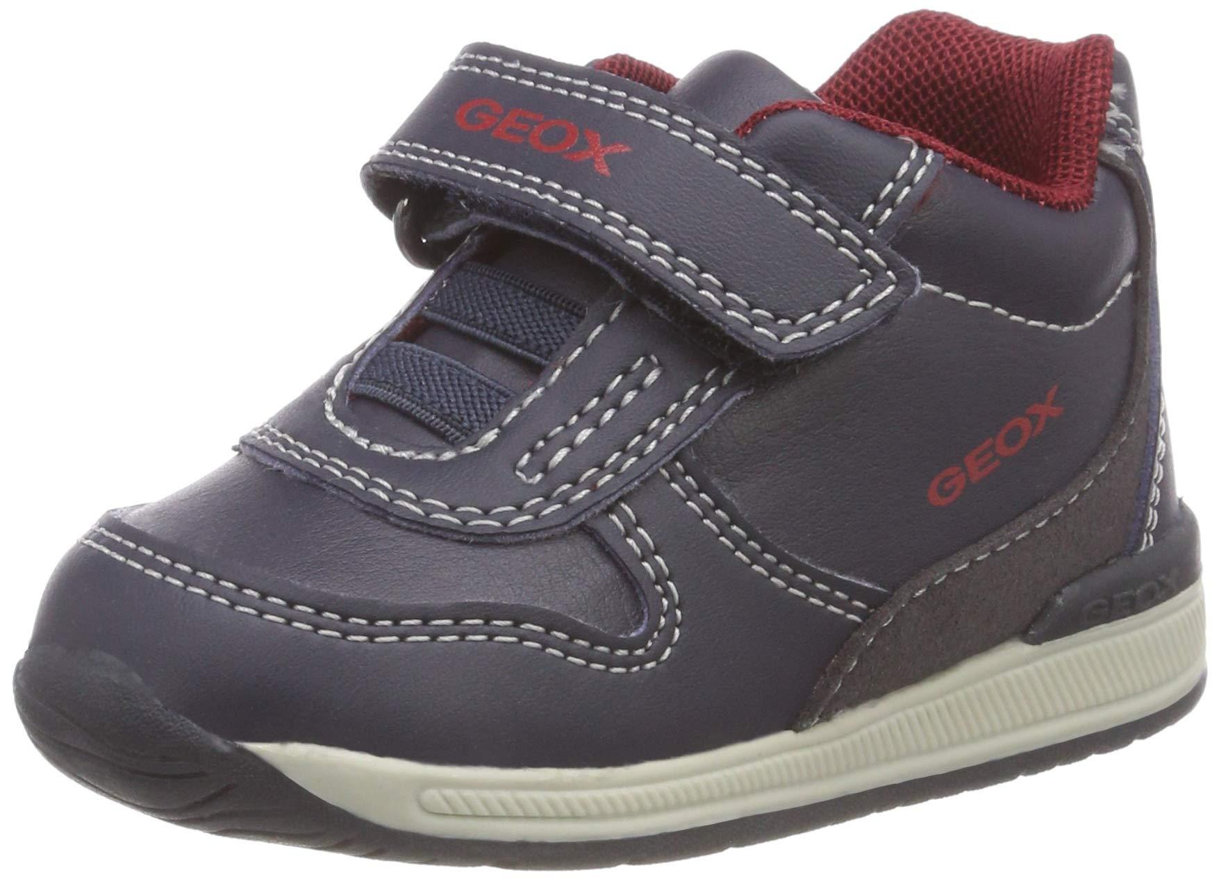 Geox B Rishon Boy B, Zapatillas para Bebés
