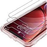 Syncwire Skärmskydd för iPhone 11 /iPhone XR Anti-Fingeravtryck Härdat Glas 3D Touch-Stöd 9H Hårdhet Installationsram Bubbelf