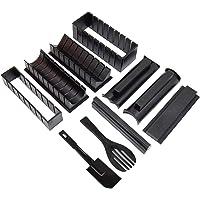 Galapara Kit de Fabricant de Sushi,Moule de Sushi Kit pour Les débutants Outil de Fabricant de Sushi antiadhésif 10…