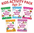 Kid's Activity Age 3+ - Pack (5 Titles- English, Maths, Environment, Good Habits, IQ)