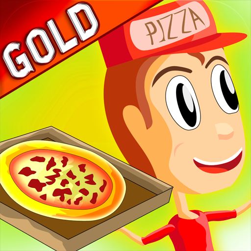 Pizza Delivery Boy & Girl - Gold Game Edition