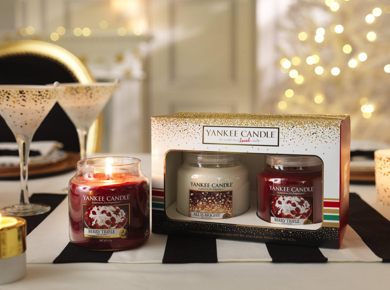 Yankee Candle Jar Holiday Party Gift Medium Set of 2 ...