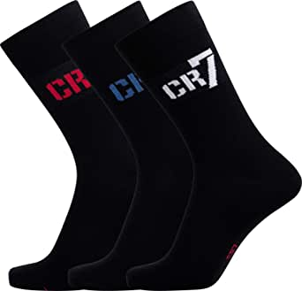 CR7 /® Boys Socks Cristiano Ronaldo Durable Sportswear Socks 3 Pack Quick-Dry