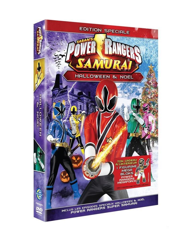 Power rangers samurai : special halloween & No�l + Micro figurine Power Rangers [Edizione: Francia]