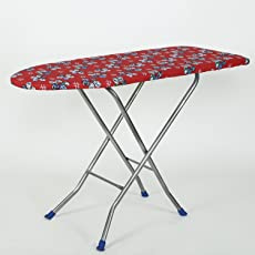NHR's Heavy Duty Foldable Ironing Board (Red)