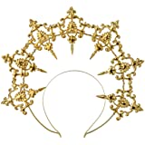 GRACEART Damen Maskerade Krone Sunburst Halo Crown Stirnband Damen Haarreif Party Accessori