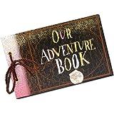 Sehaz Artworks Adventure Book Photo Album Scrapbook, DIY Handmade Album Scrapbook Movie Up Travel Scrapbook for…