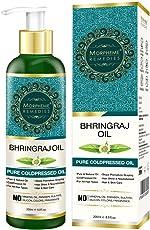 Morpheme Remedies Pure Bhringraj Oil (No Mineral Oil & Sulphate) -200ml