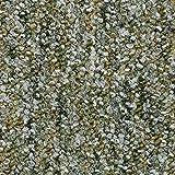 Teppichboden Auslegware Meterware Schlinge meliert grün 200, 300, 400 und 500 cm breit, verschiedene Längen