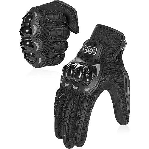 COFIT Guanti da Moto, Touchscreen sulle Dita, Guanti per corse in Motocicletta, per ATV BMX MTB Bicicletta, Arrampicata, Motocross e Altri Sport All'aperto