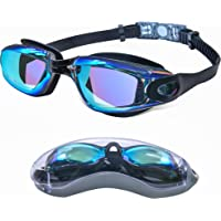 Swimming Goggles for Men Women Adults - Anti Fog Swim Goggles with Uv Protection, Clear Vision, No Leaking Silicone…