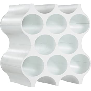 Koziol Cantinetta Portabottiglie modulare, Bianco