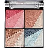 Swiss Beauty Eyeshadow, Blusher, Highlighter & Bronzer Multi Purpose Palette, Face MakeUp, Multicolor-03, 10g