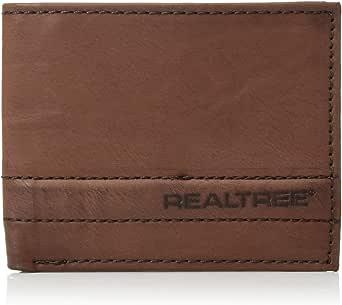 Realtree Men's RFID Blocking Passcase Wallet Bi-Fold