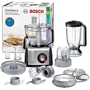 Bosch MCM62020 Robot da Cucina, 1000 W, 1.5 Litri, Plastica, Acciaio ...