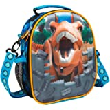 Lego Lunch Bag For Kids Movie Jurassic World 2, Insulated Lunch Box For School Nursery Travel With Bottle Holder, Lunch Boxes To Keep Food Fresh, Official Lego Merchandise For Boys Girls
