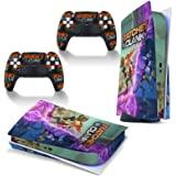 Ratchet Clank Rift Apart PS5 Skin Stickers Full Body Vinyl Skins Wrap Decalcomanie Cover per Playstation 5 Console e 2 Contro