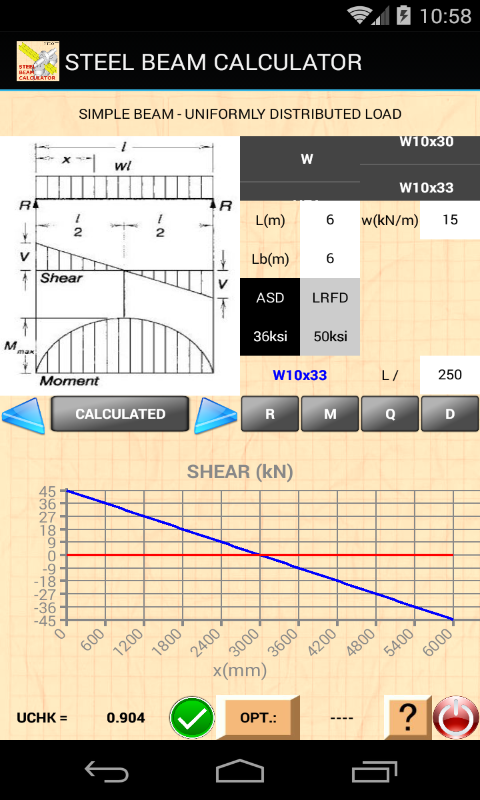 STEEL BEAM CALCULATOR: Amazon co uk: Appstore for Android