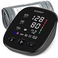 HYLOGY Misuratore di Pressione, Digitale Automatica Sfigmomanometro da Braccio, Grande Schermo Led e Bracciale, 2 utente…