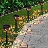 OOWOLF Solar trädgård ljus