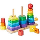 Melissa & Doug - 10567 - Empileur Géométrique - Multicolore, (25 pièces)