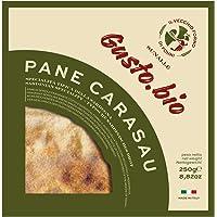 250 gr - Pane carasau. Pane tipico delle quattro Barbagie - prodotto dal consorzio di produttori Il Vecchio Forno, a…