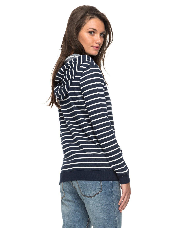 Roxy Trippin Stripe – Sudadera con Capucha y Cremallera para Mujer ERJFT03597