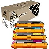 ZOOMTEC TN241 TN242 TN245 TN246 Toner Cartridge for Brother HL-3140CW HL-3150CDW HL-3170CDW (4 Pack)