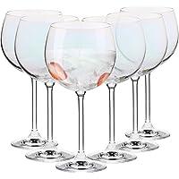 Krosno Verre Iridescent à Gin Eau   480 ML   Lot 6 Verres   Venezia Collection   A Destination des Particuliers et des…