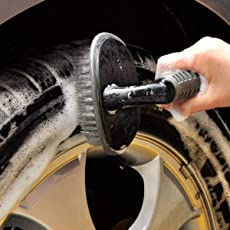 Ezip Wheel Tire Rim Scrub Brush Hub Clean Wash Useful Brush Car Truck Motorcycle Bike Washing Cleaning Tool