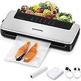 Machine Sous Vide Alimentaire Automatique, Appareil de Mise Sous Vide Professionnel 5 en 1 pour les Commercial et…