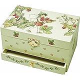 """Trousselier 60615 - Spieluhr """"TR Schublade XL Strawberry"""" (Spieldosen, Musikdosen, Spieluhren) das ideale Geschenk"""