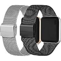 Meliya Cinturino Compatibile per Apple Watch Cinturino 44mm 42mm 40mm 38mm Series 6 5 4 3 2 1 SE, Cinturino in Metallo…