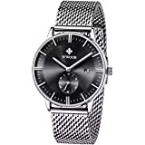 Wwoor Casual Watch For Men Analog Stainless Steel - WR-8808