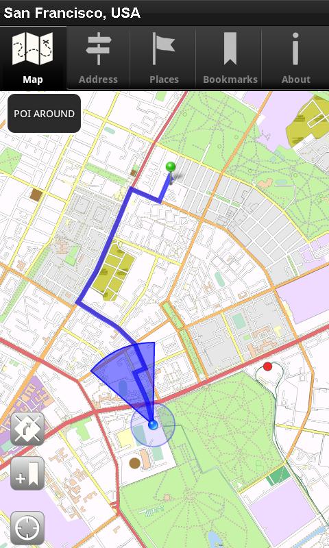 Offline Map San Francisco, USA - CNM: Amazon.de: Apps für ...