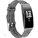 KIMILAR Compatibel met Fitbit Inspire/Inspire HR/Ace 2 / Inspire 2 Strap voor dames en heren, vervangende zachte stoffen band