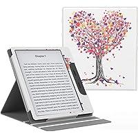MoKo Compatible con All-New Kindle Oasis Case(solo 10ª e 9ª Generazione, 2019 e 2017 Release),Copertura di Vibrazione…