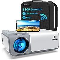 5G WiFi Videoprojecteur Full HD Bluetooth-WiMiUS W1,8500 Lumen Projecteur 1080p Natif, Soutiens 4k,Correction…