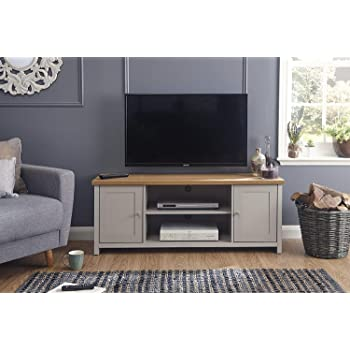 Lancaster Grey Living Room Furniture Range (Large Tv