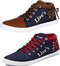 Maddy Men's Mesh Combo Of 2 Sneakers