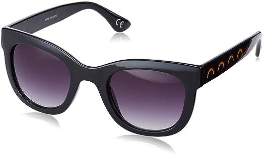 Vans Femme Catch Ya Later Sunglasses Montures De Lunettes, Noir (glossy Black)