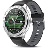 TagoBee Smartwatch Reloj Inteligente Hombr Mujer IP67 Pulsera Actividad con Monitor de Sueño Pulsómetros,1.3inch Pantalla Tác