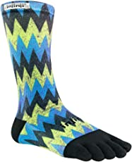 Injinji Run Lightweight Crew Toesocks Sonic Large