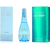 Davidoff Cool Water For Woman, 100ml and Eau De Toilette, Blue, 125ml
