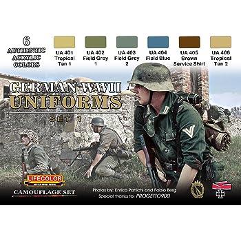 Camouflage Wwii Kit Navy German Di Lifecolor Colori Aerografo Cs09 0mNvn8w