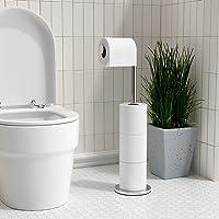 Acier Inox Dérouleur Papier Toilette för cuisine Porte papier Toilette, réserve à papier WC dérouleur papier toilette de…