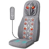 Naipo Tapis de massage Coussin de massage Shiatsu Masseur dorsal Masseur électrique avec fonction de chaleur et massage…